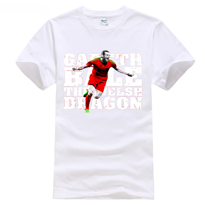 Bale T-Shirt Madrid 2018 soccering games european league tops 11