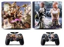 Final Fantasy 111 PS4 Pro Skin Sticker Vinyl Decal