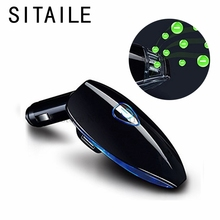 SITAILE Car Air Freshener Purifier Cleaner Auto Ionizer 12v Power Supply Dual USB Charging Kit Smoke Odor Remover