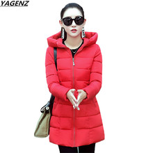 NEW Winter Jacket Women Parkas Thick Winter Outerwear Plus Size Coat Slim Lady Casual Tops Cotton-padded Jackets&Coats YAGENZ614
