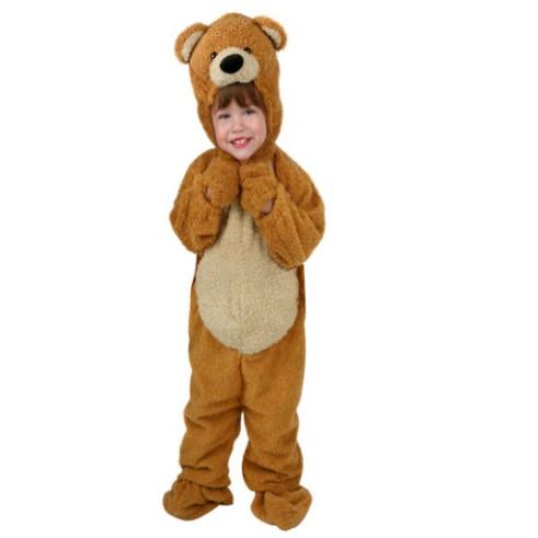 Childs Toddler Cute Honey Bear Costume Child Animal Halloween Fun Costume