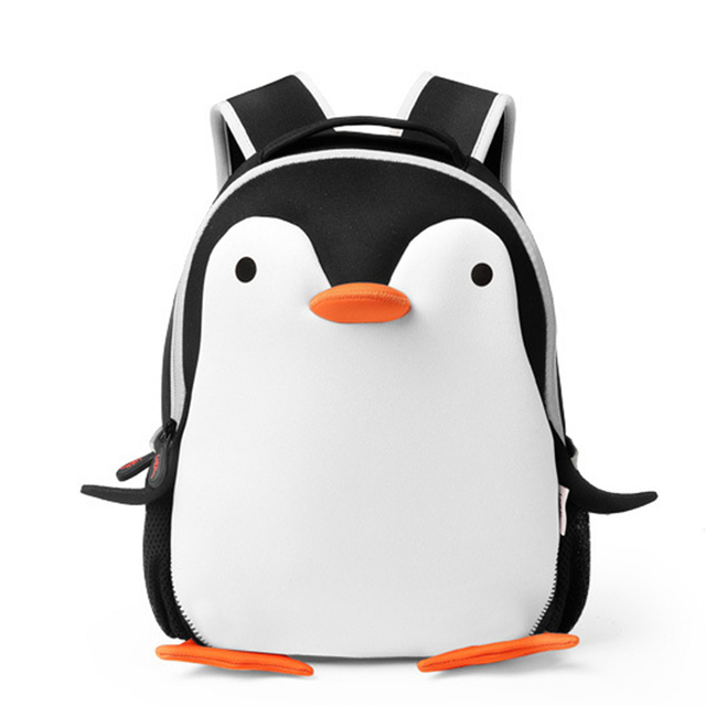 Cartoon Penguin School Backpacks Bags Kids Children School Bags for Teenage Girls Boy Waterproof Primary Children Backpack