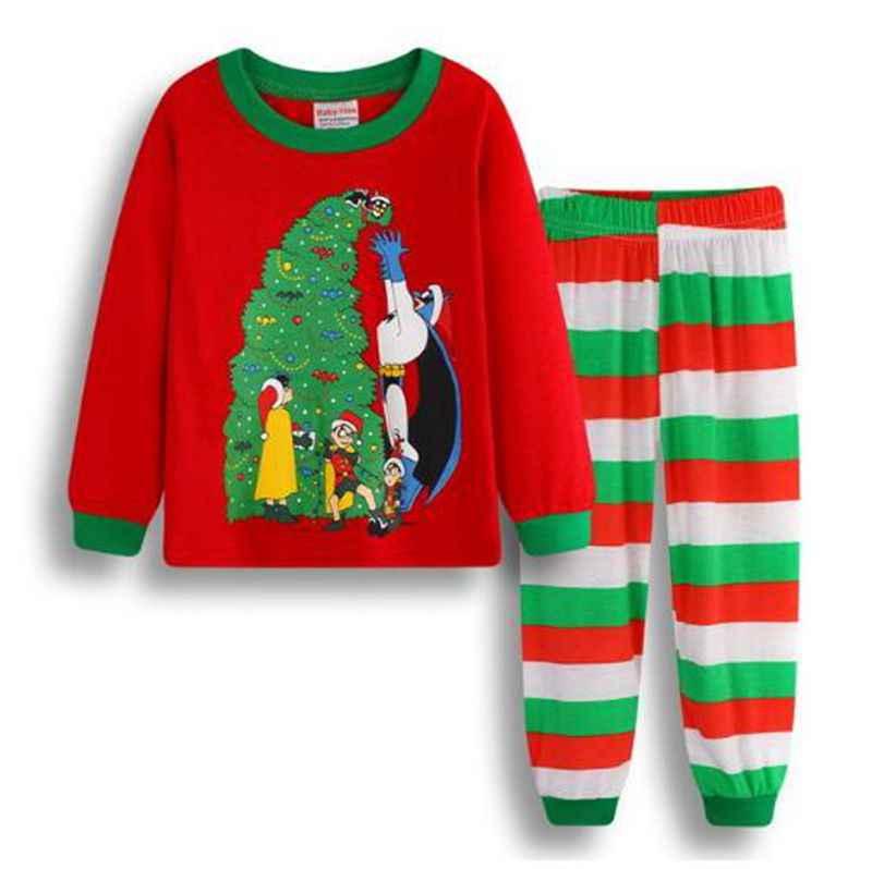 5e6e3de117f4 ... Boys Christmas Pajamas Sets Children 2pc Xmas Sleepwear Kids Pyjamas  Girls Christmas Pajamas Pijamas Infantil Unicornio ...