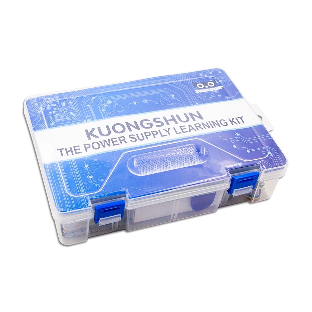Kuongshun Супер Starter kit/обучения комплект для arduino Starter Kit с 32 проектов + 1602 ЖК-дисплей RFID + PDF