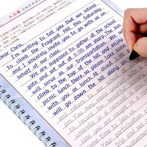 Image 1 - ليو دبوس تانغ 3 قطعة هنغشوي الكتابة الإنجليزية الخط كتاب التأليف للأطفال الكبار تمارين الخط ممارسة كتاب ليبروس