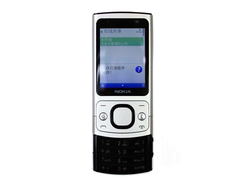 Refurbished 6700S Original Nokia 6700 Slider Cell Phone Unlocked 5MP 6700 Slide Bluetooth Free Shipping