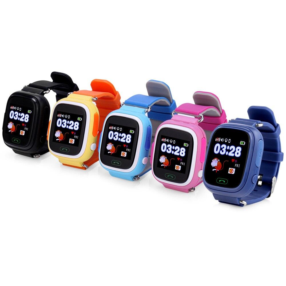 a1581125735 Q90 TWOX GPS relógio inteligente para as crianças do bebê Relógio  Inteligente relógio SOS posicionamento telefone com WI FI para IOS Android  Telefone PK ...