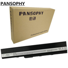 Pansophy 6 Cell Батарея для ASUS A52 A42 A62 B53 D716 F85 F86 K42 K52 K52F K62 P42 P52 P62 P82 Pro 51 Pro 5I X42 X52 X5I X67 X8C