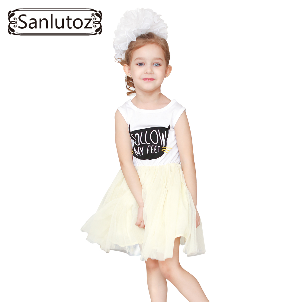Girl Dress Summer Children Clothing Tutu Style Girls Clothes Kids Party Princess Dress for Girls