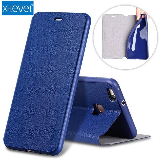 X-Mức Độ Sang Trọng lật PU Da Trường Hợp đối với Huawei P20 Pro P9 P10 P20 Lite Nova 3i P10 Cộng Với người bạn đời RS 8 9 10 Pro Lật Bìa Đứng trường hợp