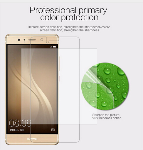 Image 5 - 2 pcs/lot screen protector for Huawei Ascend P9 NILLKIN Crystal Super clear protective film with retailed package-in Phone Screen Protectors from Cellphones & Telecommunications on