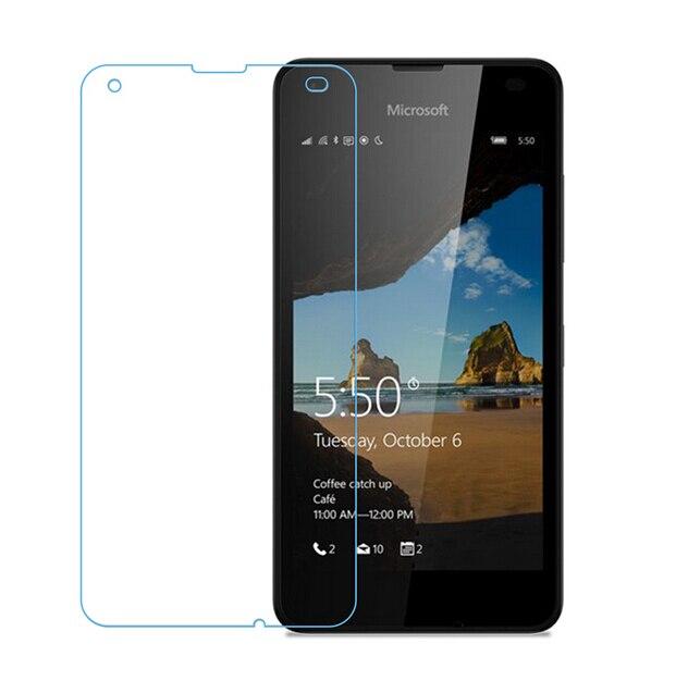 2PCS For Glass Microsoft Lumia 550 Screes