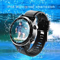 Kospet Brave Android 6.0 Smart Watch 2GB+16GB Nano SIM card 4G WiFi GPS Heart rate tracker Ip68 waterproof smartwatch pk Z29 H7