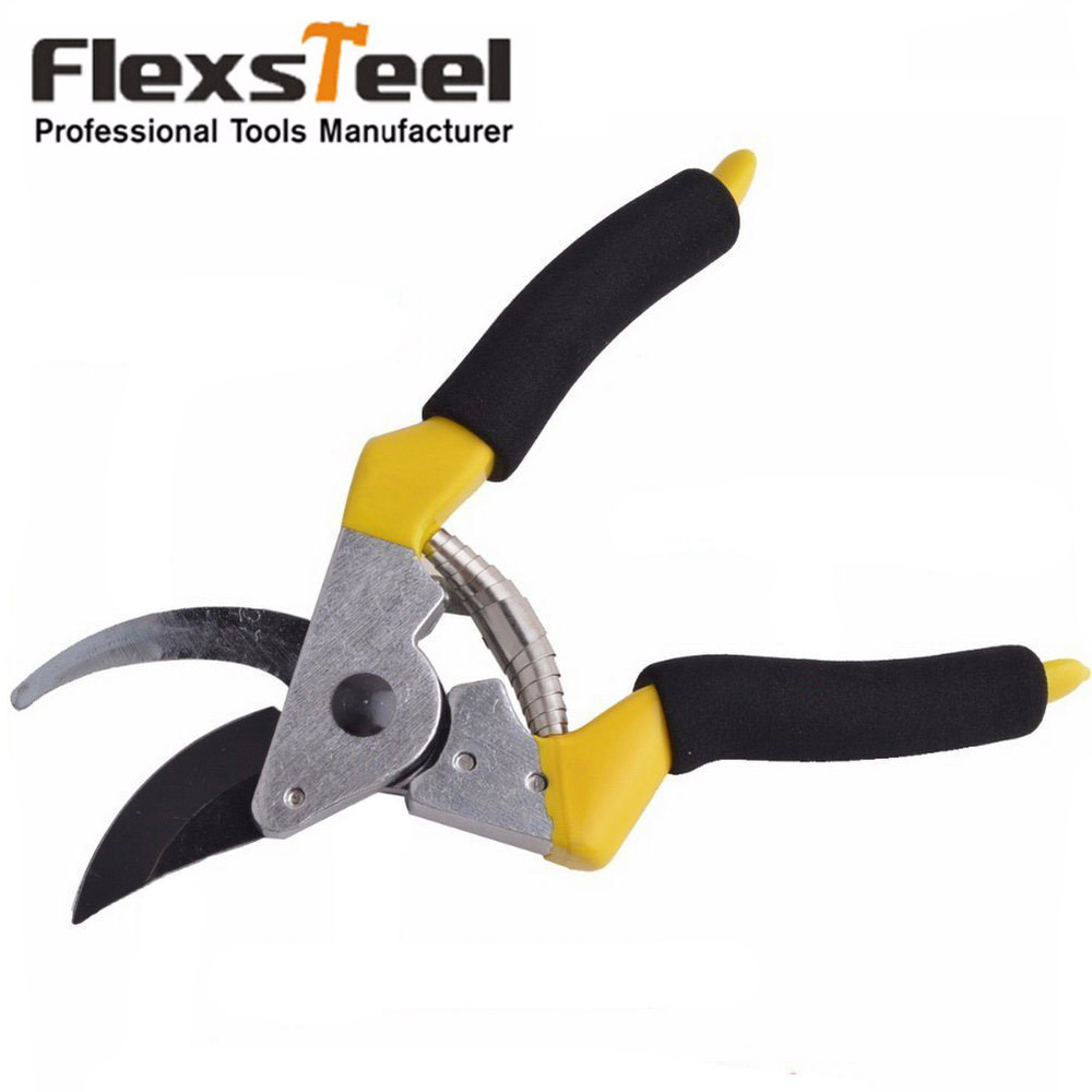 Buy flexsteel high carbon steel 8inch for Gardening tools pruning