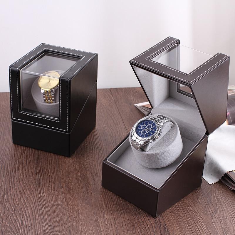 Offre spéciale!!! Luxe haute qualité montre remontoir support de montre boîte d'affichage automatique mécanique montre remontoir boîtier moteur Shaker - 2