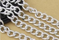 Free Shipping DIY Jewelry Accessories 18 13 Mm Large Batch Of Flower Extending Chain Aluminum Oxide