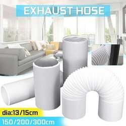 Draagbare Airconditioner Onderdelen Diameter 13 cm/15 cm Uitlaat Slang Buis Gratis uitbreiding Flexibele DIY Thuis Voor Air conditioner Gereedschap