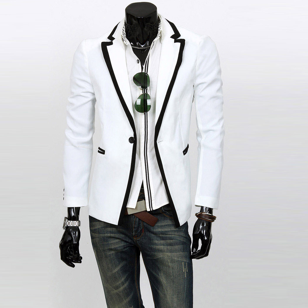 White stylish blazer for men photos