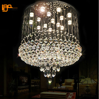 Hot Sales Luxury K9 Crystal Lamp LED Chandelier Ceiling Lighting For Home And Hotel Free Shipping