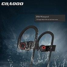 CBAOOO Спортивные Bluetooth Наушники беспроводной наушники Бег Спорт стерео гарнитура Супер наушник с басом устойчивое с микрофоном телефон