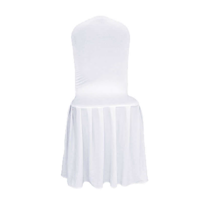 Livia Olay Tex Beyaz Likra Sandalye Düğün Olaylar Parti Otel - Ev Tekstili