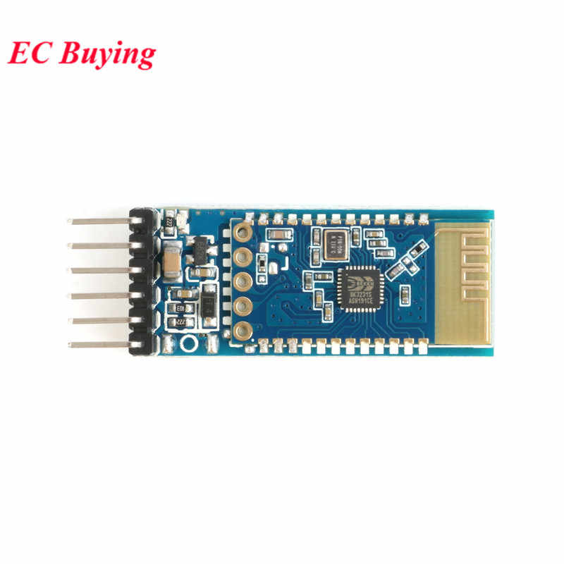 JDY-31 Bluetooth 3.0 HC-05 HC-06 Modul Bluetooth Serial Port 2.4G Spp Transparan Transmisi Kompatibel dengan HC 05 06 JDY-30