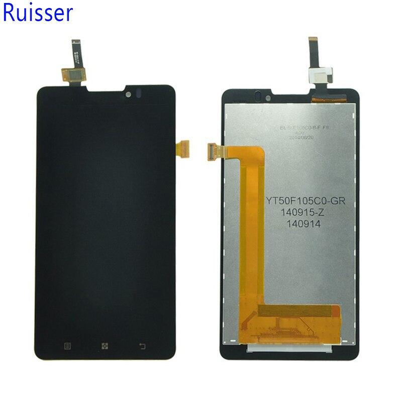 Ruisser Pour Lenovo P780 LCD Affichage à L'écran Tactile Digitizer Assemblée 5.0 Pouce 1280*720 Écran De Remplacement Lcd Pièces