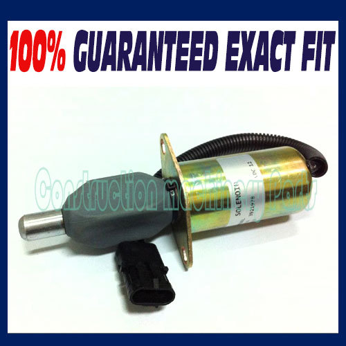 Fuel shutdown solenoid 3921978 3918600 TJG130805 shut off solenoid for CUMMINS 6CT/6CTA 12V