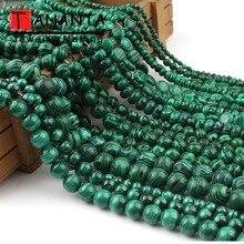 цены на Natural Faceted Round Teardrop Heart Square Shape Green Malachite Stone Beads For Jewelry Making DIY Bracelet Necklace 15 inch  в интернет-магазинах