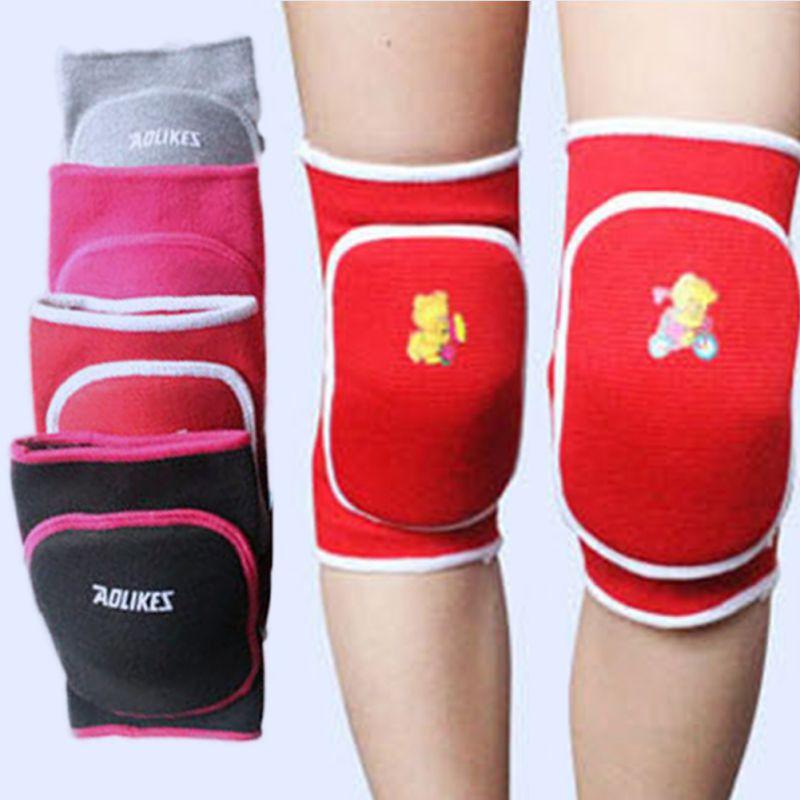 3-15Y Child Kids Boy Girl Knee Pad Dance Training Games Cotton Sports Knee Pad