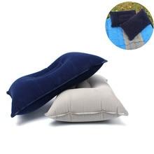 Уличная воздушная надувная подушка для путешествий утолщенная Флокированная квадратная Складная Подушка для сна для кемпинга