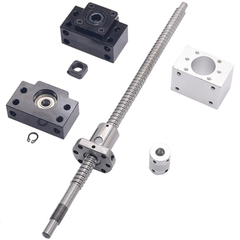 Sfu1204 Set:Sfu1204 Rolled Ball Screw C7 With End Machined(500Mm) + 1204 Ball Nut + Nut Housing+Bk/Bf10 End Support + Coupler