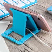 Telefon Halter Schreibtisch Stehen Für Ihre Handy Stativ Für iPhone Xsmax Huawei P30 Xiao mi mi 9 Kunststoff Faltbare schreibtisch Halter Stehen