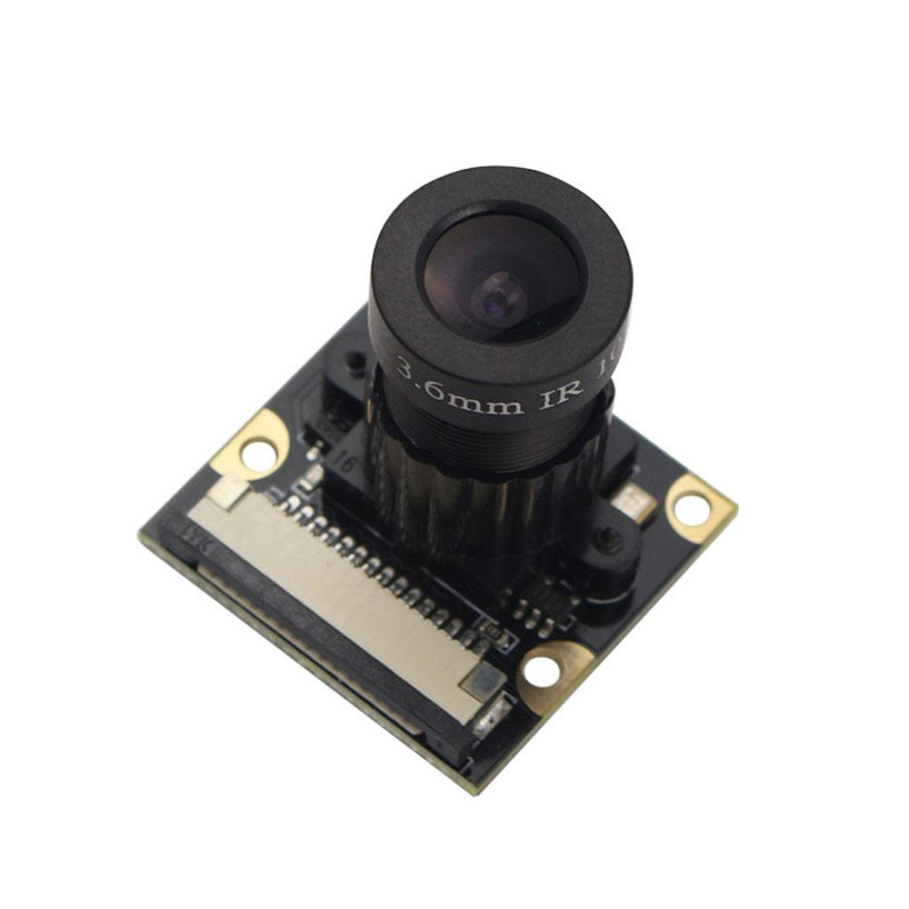 AMZDEAL Camera Module Wide Angle Night Vision 5 Megapixel OV5647 Sensor Adjustable Focal For Raspberry Pi2/3
