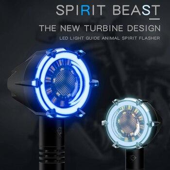 SPIRIT BEAST-L11 Motorcycle Turn Signal Universal LED day-time&night-time running light Motorbike Front/Rear direction indicator