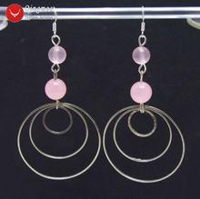 Серьги кольца женские круглые 8 10 мм 35 дюйма