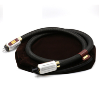 Hifi audio Enigma Extreme Signature audio US AC power cable with Rhodium plated US power Plug connector
