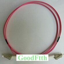 繊維パッチコードLC LC OM4デュプレックスgoodftth 1 15メートル6ピース/ロット