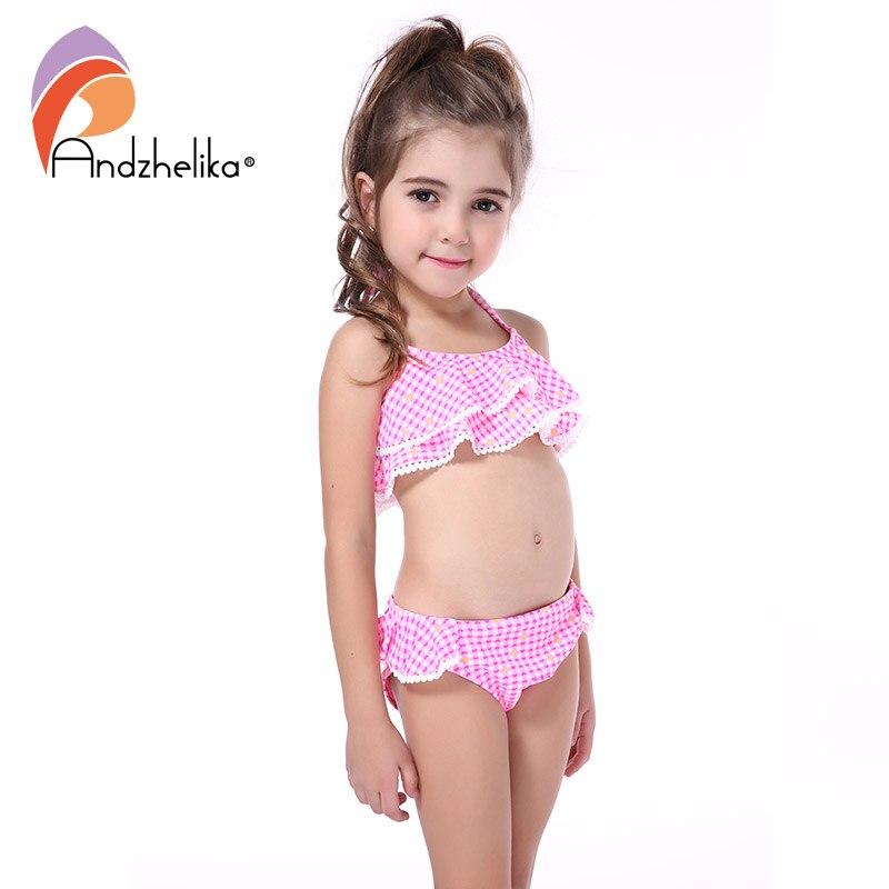 223b4dfa4 Andzhelika New Children's Swimwear Cute Heart Bikini Girls Summer Swimsuit  Beach Kids Swimwear Child Sports Bathing Suit AKZS56 - aliexpress.com -  imall.com