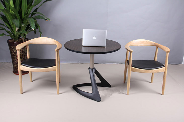 Cafe Chairs Wooden Wicker High Back Dining Chair Simple Wood Creative Home Horns Cheap New Designer Bar Stool