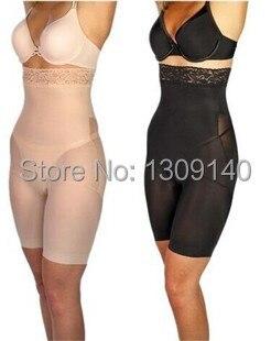72ece28dc3 Black Nude Women Body Shaper Slimming Pants Waist Trainer Belly Fat Slim  Lift Control Panty Plus