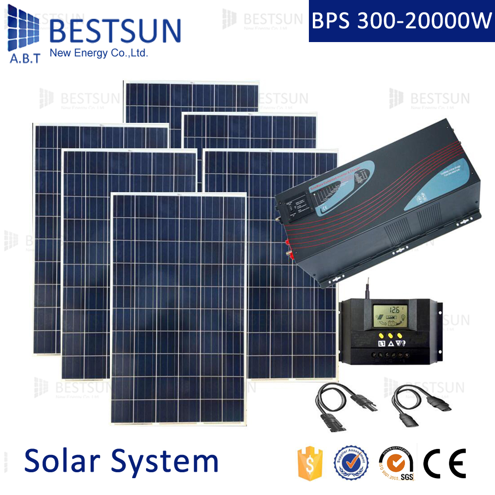 new design solar power system for home and office 6kw with ce tuv proved off grid - Home Solar Power System Design