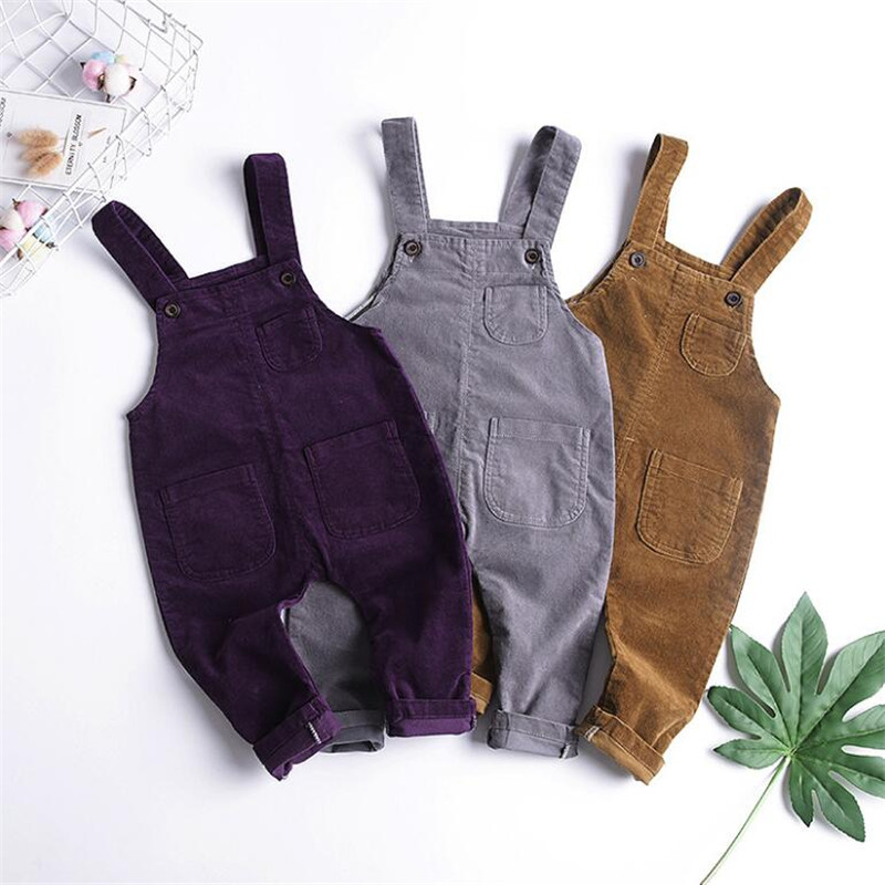 Jeans Pants Casual-Trousers Baby-Boys-Girls Kids Children Denim Spring For Rompers 9M-3T