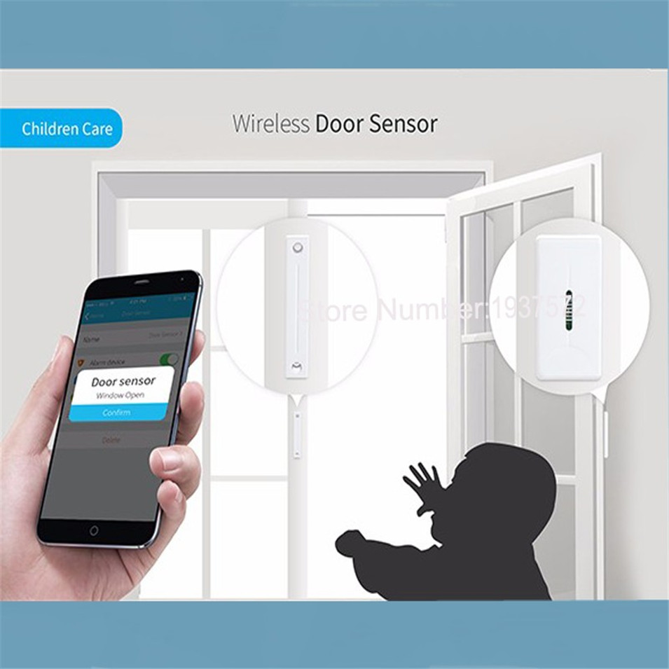 New Arrival Broadlink S1S1C SmartOne Alarm&Security Kit For Home Smart Home Alarm System IOS Android DoorWindow Sensor RF433-4