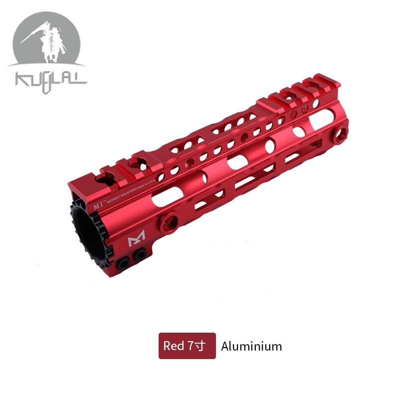 7 9 12 Inch M-LOK Handguard Free Float Super Slim Ar 15 Handguard Rail MLOK Handguard Rail for M4 M16(China)