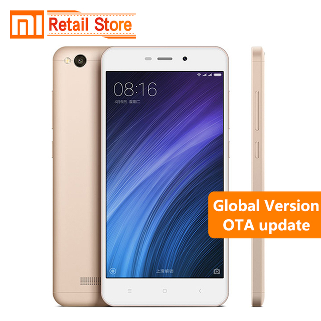 "Global Version Xiaomi Redmi 4A 4 A 2GB RAM 32GB ROM Cellphone 5.0"" Snapdragon 425 Quad Core Mobile Phone 3120mAh 13.0 MP Camera"