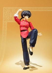 "Image 5 - Japan Anime ""Ranma 1/2"" Original BANDAI Tamashii Nations S.H.Figuarts / SHF Action Figure   Ranma Saotome"