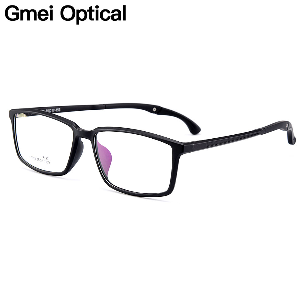 f9ceb3da30 Gmei Optical Urltra-Light TR90 Men Optical Glasses Frames Plastic Optic  Glasses Frame For Women Myopia Spectacles Oculos M1019
