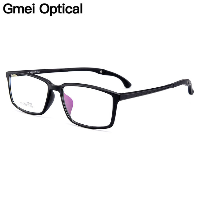 d737f9c04d820 Gmei Optical Urltra-Light TR90 Men Optical Glasses Frames Plastic Optic  Glasses Frame For Women