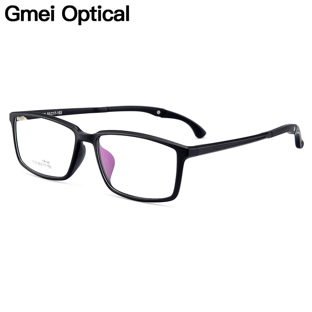 Gmei Optique Urltra-light TR90 Hommes Optique Lunettes Cadres En Plastique Optique Lunettes Cadre Pour Les Femmes Myopie Lunettes Oculos M1019